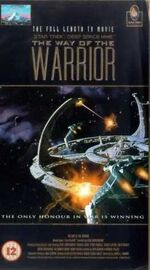 Way of the Warrior UK special edition VHS cover