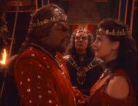 Worf and Dax's wedding