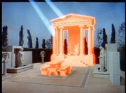 Apollo's temple under attack, trailer