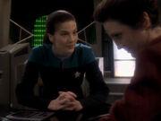 Dax und Kira reden über Riker