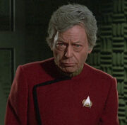 DeForest Kelley, TNG screen test