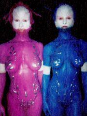 Diane and Elaine Klimaszewski