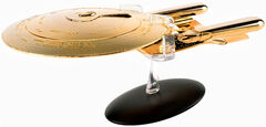 Eaglemoss XL Edition Gold USS Enterprise-D