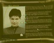 Ezri Dax personnel file