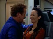 Miles entschuldigt sich bei seiner Frau