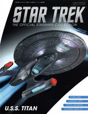 Star Trek Official Starships Collection USS Titan cover