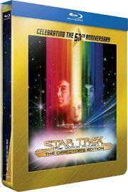 Star Trek The Motion Picture Blu-ray cover Region B steelbook reissue, French version