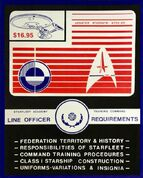 Starfleet Academy Training Command Line Officer Requirements