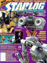 Starlog issue 108 cover