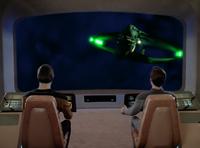 Where Silence Has Lease - statek Romulan