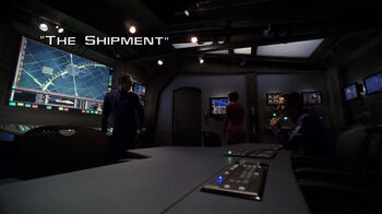 The Shipment title card