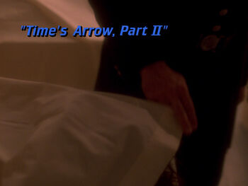 Time's Arrow, Part II title card