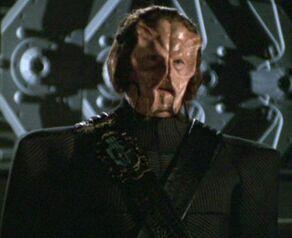 Q posing as a Chokuzan commander
