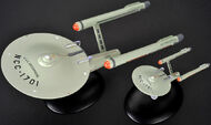 Eaglemoss TOS USS Enterprise comparison