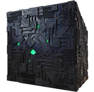 Raumschiffsammlung Abonnement Borg-Kubus