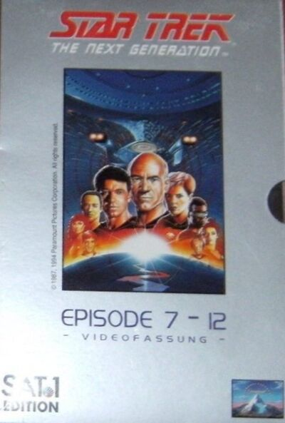 Star Trek The Next Generation – Videofassung (Episode 7 - 12)