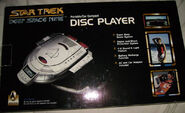 USS Defiant CD player - back