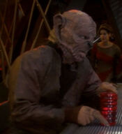 Yridian DS9 resident, 2374