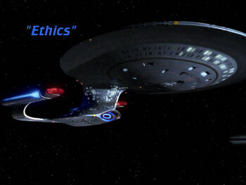 Ethics title card