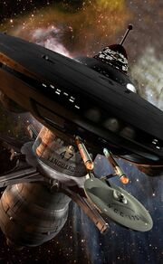 Doug Drexler's CGI starbase 47 close-up