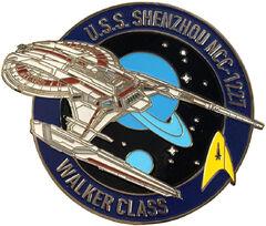 Eaglemoss Fansets USS Shenzhou pin