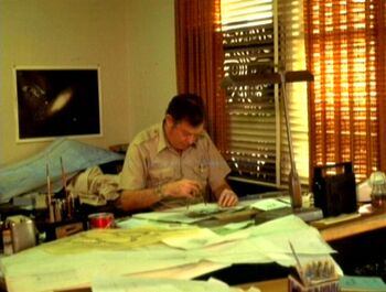 At work during the production of <i>The Motion Picture</i>