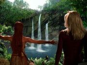 Ledos waterfall