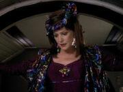 Lwaxana Troi auf Deep Space 9