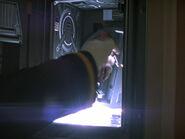 Manuelle Öffnung Maschinenraum-Tür