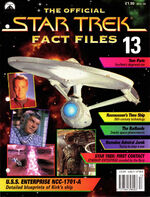 Star Trek Fact Files Part 13 cover