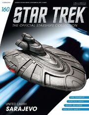 Star Trek Official Starships Collection issue 160