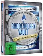 The Roddenberry Vault German Steelbook cover