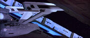 USS Enterprise exiting the Earth Spacedock-0