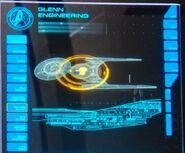 USS Glenn lower stores