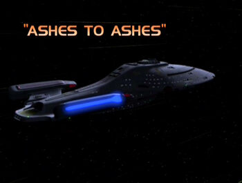 Ashes to Ashes title card