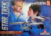 AMT Model kit AMT913 2-piece USS Enterprise Set 2015