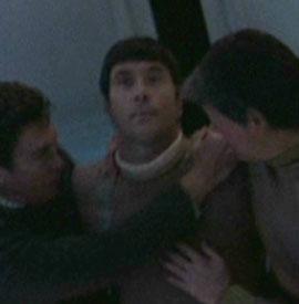 ...as stunt double for Leonard Nimoy in <i>Star Trek V</i>