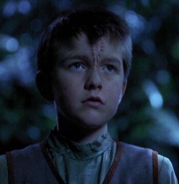 ...as the alien boy drone