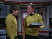 Kirk ist über Chekovs Arbeit verärgert