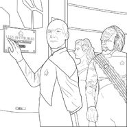 next generation adult coloring book p3 - Star Trek Coloring Book
