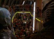 Sisko's memorial service