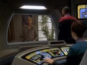 Sisko spricht mit Yolad Belar