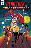 Star Trek vs. Transformers 1 RIB