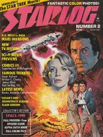 Starlog issue 002 cover
