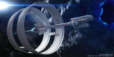 2011 Star Trek Ships of the Line calendar January promo
