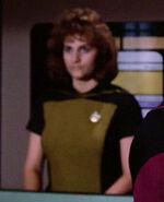 Female transporter officer, 2364