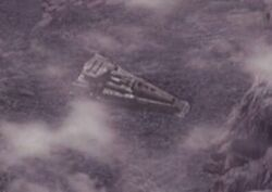 Kantare supply ship (overhead)