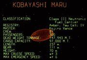 Kobayashi Maru data