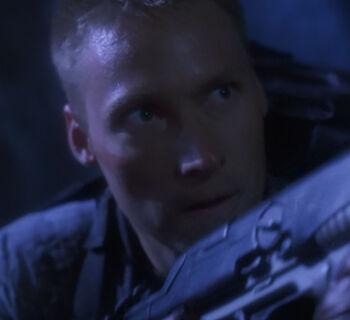 ... as Corporal R. Ryan