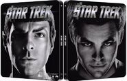 Star Trek 1 disc Blu-ray Region B UK Steelbook cover, variant 1